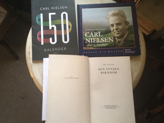 Litteratur om Carl Nielsen
